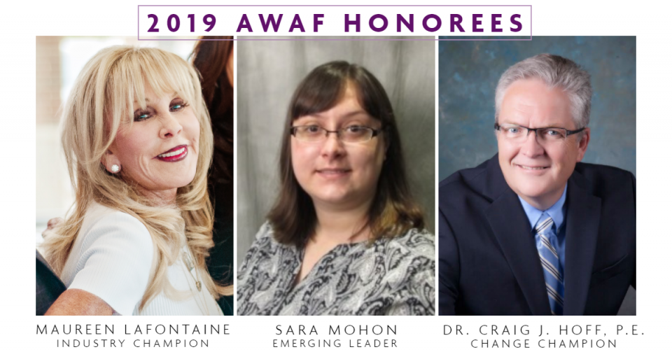 2019 AWAF Honorees are: